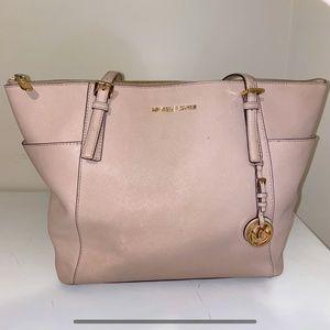 Michael Kors Large Shoulder Bag | Baby Pink